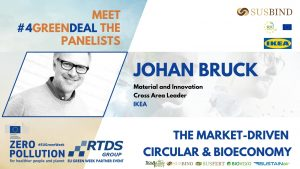 Johan Bruck, Material and Innovation Cross Area Leader at IKEA