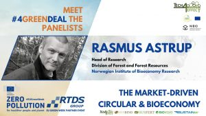 Rasmus Astrup, Head of Research at Division of Forest and Forest Resources at NIBIO
