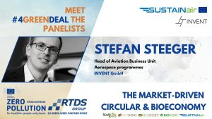 Stefan Steeger, Head of Aviation Business Unit at INVENT GmbH